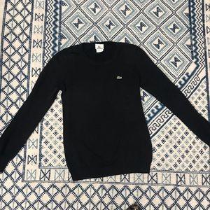 Classic Black Lacoste Sweater